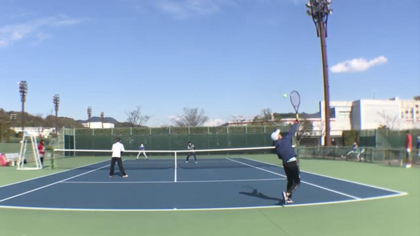 テニス倶楽部レアレア初!大会開催!